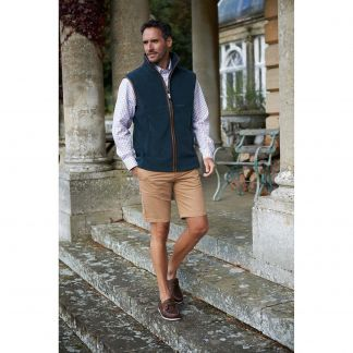 Cordings Schoffel Kingfisher Oakham Fleece Gilet Different Angle 1