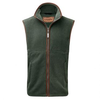 Cordings Schoffel Cedar Oakham Fleece Gilet Different Angle 1