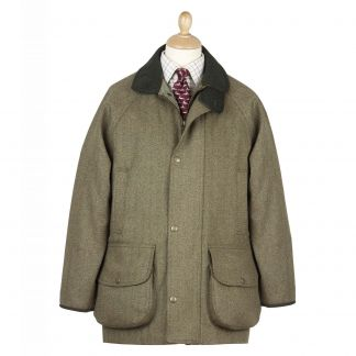Cordings Firley Herringbone  Tweed  Field Coat Main Image