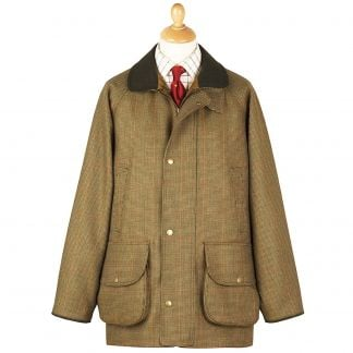 Cordings Sporting Check Field Coat  Main Image