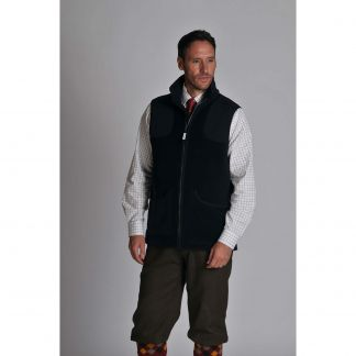 Cordings Navy Schoffel Gunthorpe Shooting Vest   Different Angle 1