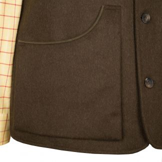 Cordings Loden Moorland Shooting Waistcoat Different Angle 1