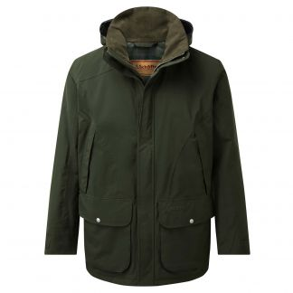 Cordings Schoffel Forest Green Snipe Coat Main Image