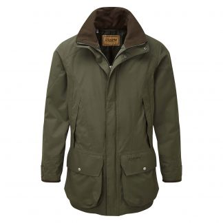 Cordings Schoffel Ptarmigan Ultralight II Dark Olive Coat Main Image