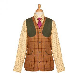 Cordings Skipton Tweed Shooting Waistcoat Main Image