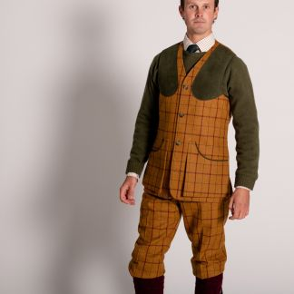 Cordings Skipton Tweed Shooting Waistcoat Different Angle 1