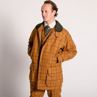 Cordings Skipton Tweed Field Coat Different Angle 1