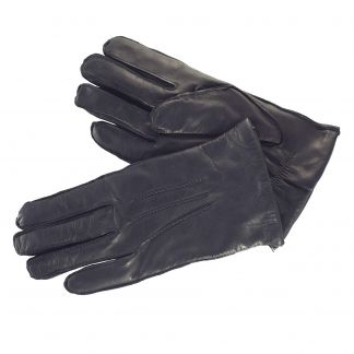 Cordings Black Classic Leather Gloves Different Angle 1