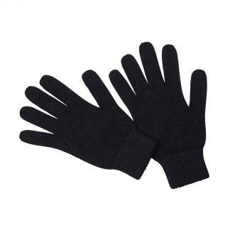 Cordings Black Cashmere Glove Different Angle 1