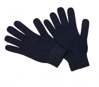 Cordings Navy Cashmere Glove Different Angle 1