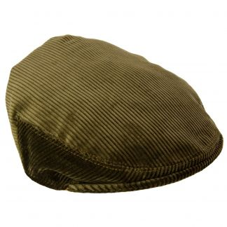 Cordings Moss Corduroy Garforth Cap Main Image