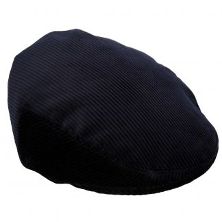 Cordings Navy Corduroy Garforth Cap Main Image