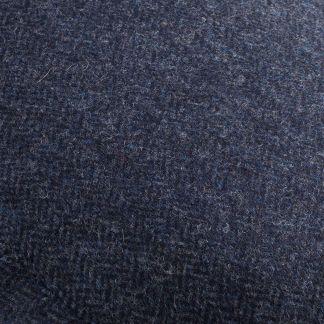 Cordings Blue Herringbone York Cap  Different Angle 1