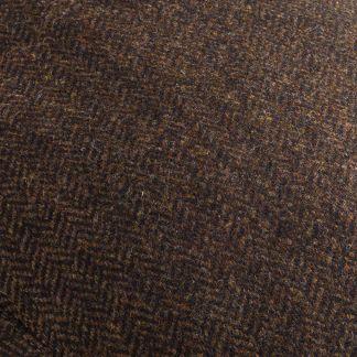 Cordings Brown Herringbone York Cap  Different Angle 1