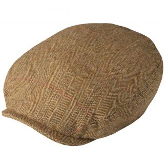 Cordings Barleycorn Tweed Baggy Bond Cap Main Image
