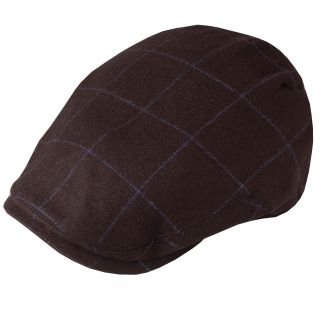 Cordings Brown Cashmere York Cap  Different Angle 1