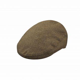 Cordings Moss Green Shetland Wool Garforth Cap Main Image