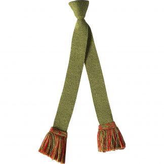 Cordings Moss Green Angus Bobble Top Shooting Stocking Different Angle 1