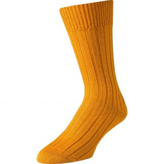 Cordings Bracken Merino Mid Calf Country Sock Different Angle 1