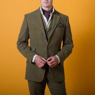 Cordings Lovat Earl Moleskin Jacket  Different Angle 1