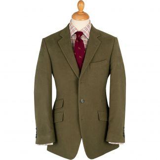 Cordings Green Lovat Earl Moleskin Jacket  Main Image