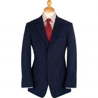 Cordings Navy Earl Moleskin Jacket  Main Image