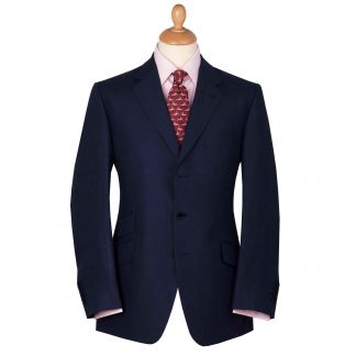 Cordings Navy Linen Jacket Main Image