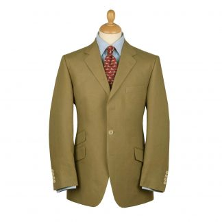Cordings Olive Green Linen Jacket Main Image