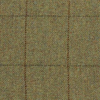 Cordings 21oz Windowpane Tweed Garforth Cap Different Angle 1