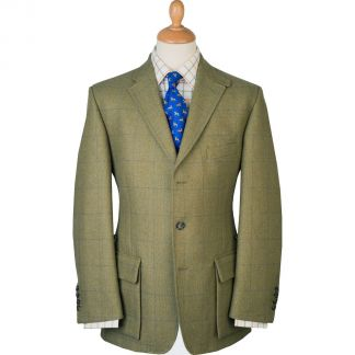 Cordings House Check Action Back Tweed Jacket Main Image
