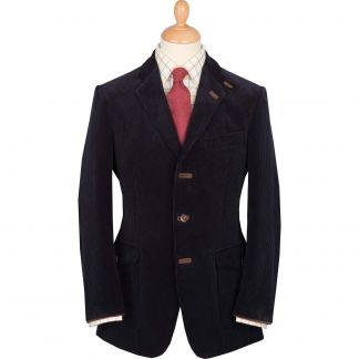 Cordings Navy Ripley Cord Jacket       Main Image