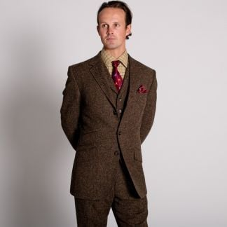 Cordings Bracken Derry Irish Donegal Tweed Jacket Different Angle 1