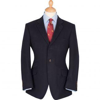 Cordings Navy Batley Cashmere Blazer Main Image