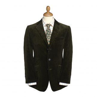 Cordings Olive York Corduroy Jacket  Main Image