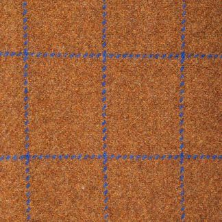 Cordings Rust Montague Shetland Tweed Trousers Different Angle 1