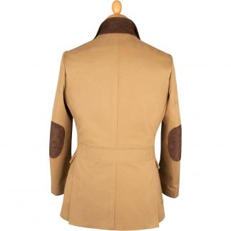 Cordings Sand Watson Cotton Jacket Different Angle 1