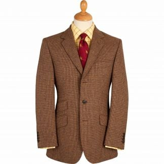 Cordings Brown Hunting Tweed Jacket Main Image