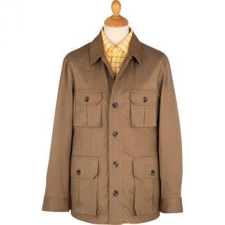 Cordings Khaki Kalahari Safari Cotton Jacket Main Image
