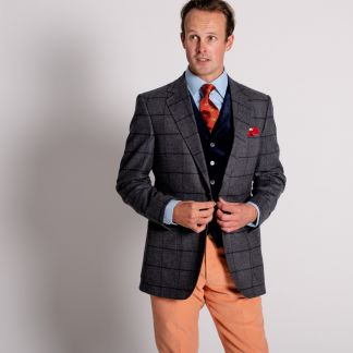 Cordings Malvern Tweed Sports Jacket Different Angle 1