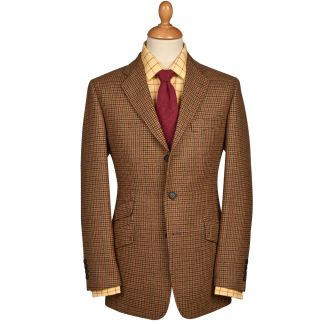 Cordings Clancey Check Tweed Jacket Different Angle 1