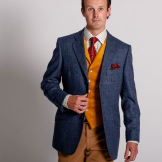 Cordings Abbot  Overcheck Tweed Jacket Different Angle 1
