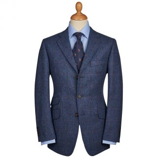 Cordings Abbot  Overcheck Tweed Jacket Main Image