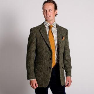Cordings Green Callanish Harris Tweed Jacket Different Angle 1