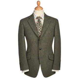Cordings Green Callanish Harris Tweed Jacket Main Image