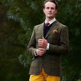 Cordings Shamrock Irish Tweed Jacket Different Angle 1