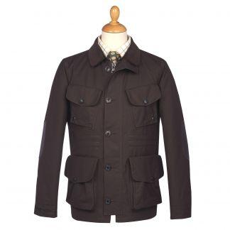 Cordings British Made Pimlico Dry Wax Jacket Main Image