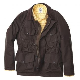 Cordings British Made Pimlico Dry Wax Jacket Different Angle 1