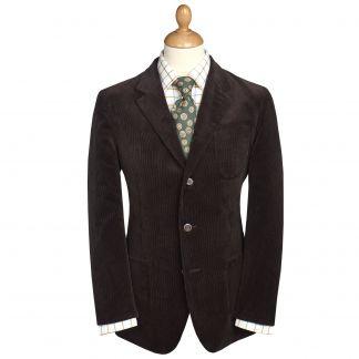 Cordings Brown Stockbridge Needlecord Jacket Main Image