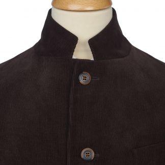 Cordings Brown Stockbridge Needlecord Jacket Different Angle 1