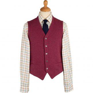 Cordings Rose Merino Waistcoat Main Image